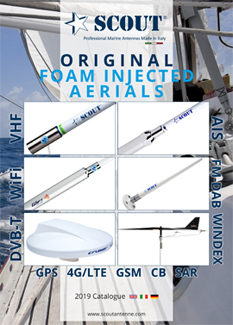 SCOUT – Professional Marine Antennas Made in Italy